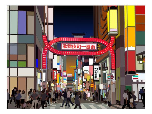 歌舞伎町で風俗遊び三昧を!高級から激安まであるよ