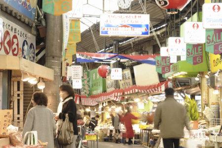 大阪生野コリアタウンのアーケード