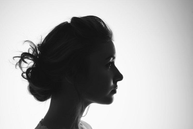 あるエロい女の横顔