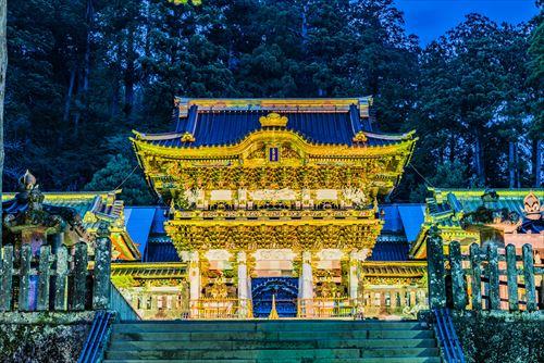 栃木の日光東照宮