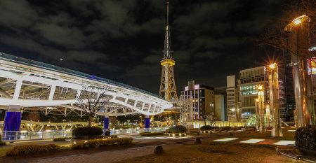 名古屋市の夜景