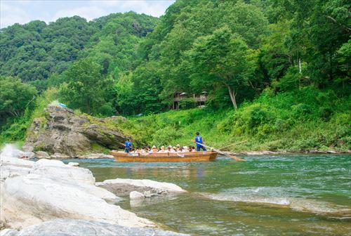長瀞渓谷の川下り